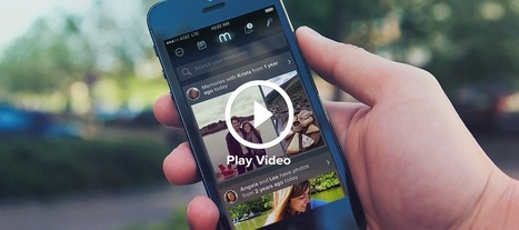 Memoir App | Benchmark Mobile User Interface | Scoop.it
