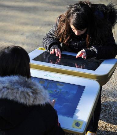 Play, la table tactile dans un square de Paris | Clément SUZANNE | Scoop.it