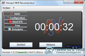 Hotspot Wifi Reconnecteur : un logiciel gratuit pour se reconnecter automatiquement aux hotspots Neuf, SFR, Free, Bouygues Telecom | Time to Learn | Scoop.it