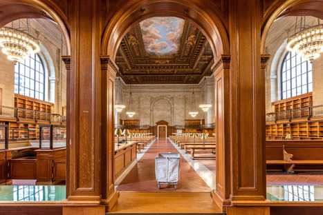 New York Public Library Unveils Stunning 'Rose Reading Room' After Two-Year Renovation | Le It e Amo ✪ | Scoop.it