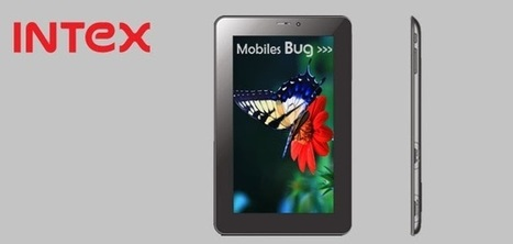 Intex iBuddy Connect 2 tablet price in India and specifications - Mobiles Bug | Mobiles Bug | Scoop.it