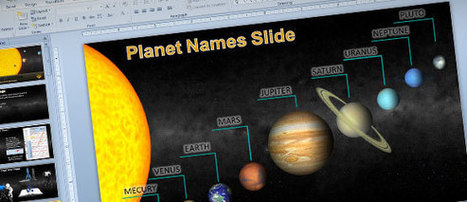 Animated Solar System PowerPoint Template for Science & Astronomy Presentations | PowerPoint Presentation | solar system | Scoop.it