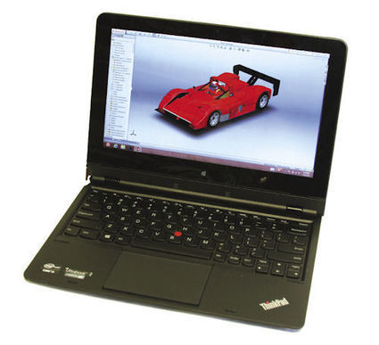 Review: Mobile Tablet/Notebook Convertible Can Run CAD by Desktop Engineering | PTC 3D CAD, PLM and PDM | Scoop.it