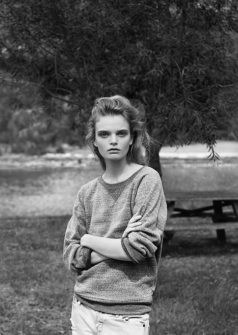 [editorial] amazing newcomer Marthe Wiggers shot by Christopher Ferguson for Stonefox Magazine | Issue #3 | Fashion & more... | Scoop.it
