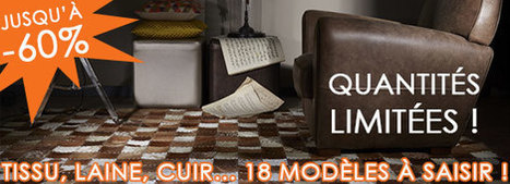 Déstockage massif Tapis Home Spirit | Tendances Déco | Scoop.it