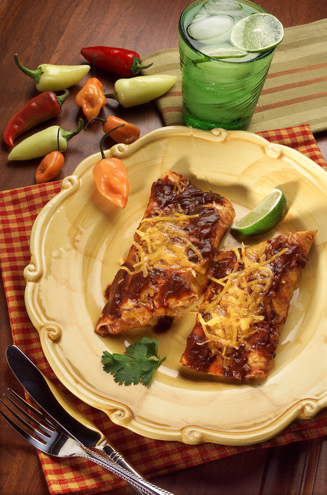 Easy dinner recipes: Gloriously cheesy enchilada ideas - Los Angeles Times | Cooking | Scoop.it
