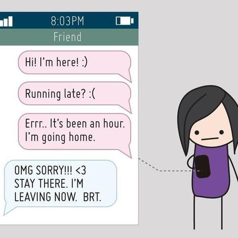 [COMIC] Life Before and After Cellphones   Digital Natives   Scoop.it