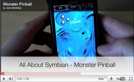 Monster Pinball: the perfect game?!   WOMWorld/Nokia   New Digital Media   Scoop.it