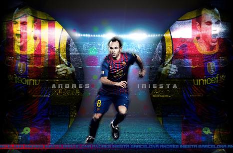 خلفيات الاعب أندريس إنييستا 2014, خلفيات للاعب برشلونة أندريس إنييستا 2014 | wallpapers 2014 | Scoop.it