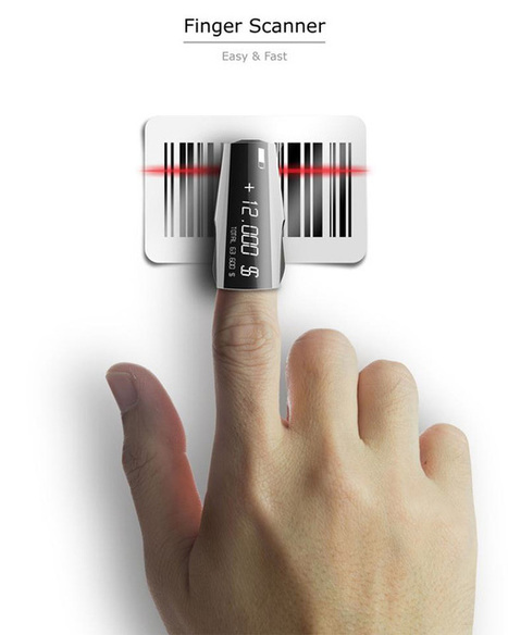 Finger Scanner – Barcode Scanner | Innovations urbaines | Scoop.it