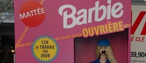 """Exploitée et mal payée, """"Barbie ouvrière"""" se rebiffe   Barbie ouvrière : campagne Peuples Solidaires Vs Mattel   Scoop.it"""