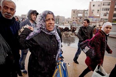 In Syria, Palestinian Refugees Made Refugees Again   Civil War in Syria   Scoop.it