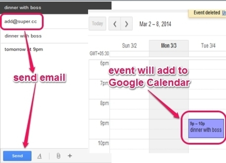 How To Add Events to Google Calendar By Just Sending an Email? | Time to Learn | Scoop.it