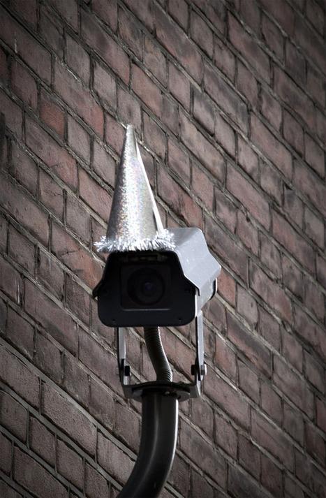 Surveillance Cameras Wear Party Hats for George Orwell's 110th Birthday | Digitale Gesellschaftspolitik gestalten | Scoop.it