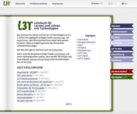 Übersicht - L3T | L3T - Lehrbuch für Lernen und Lehren mit Technologie | Scoop.it