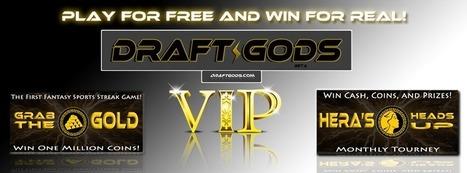 Daily Fantasy Sports: How to make a cash deposit on DraftGods.com - Draft Gods | Draft Gods | Scoop.it