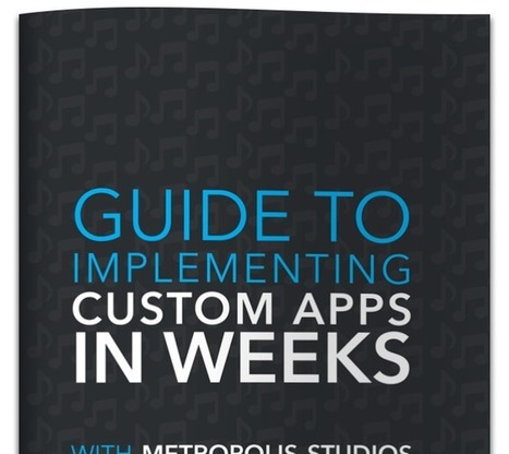 Guide to implementing custom apps in 6 weeks | FileMaker | Learning FileMaker | Scoop.it