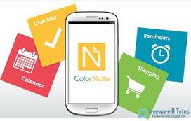 ColorNote : un bloc-notes coloré pour votre Android   François MAGNAN  Formateur Consultant   Scoop.it