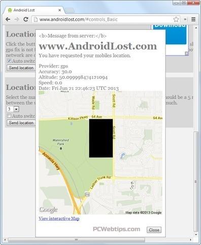 Como Encontrar Mi Android, Sin haber configurado una App de seguimiento | PCWebtips.com | Windows PC - Trucos y Tips | Scoop.it