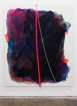Mary Weatherford: Bakersfield Paintings at LAXART | Painters' Table | Contemporary Art hh | Scoop.it