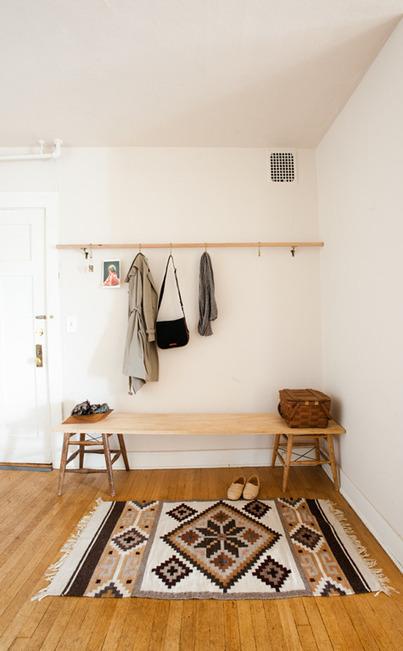 Une déco simple et fonctionnelle, idéale pour les locataires ! | DecoCrush blog déco, idées déco | décoration & déco | Scoop.it