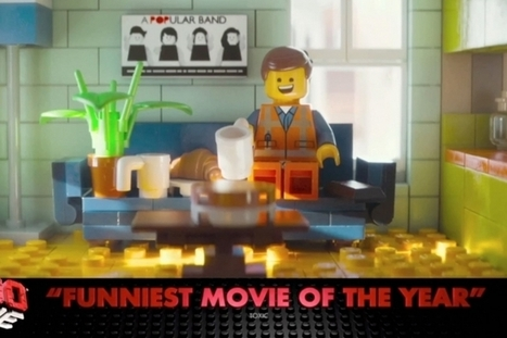 In the U.K., 'The Lego Movie' Teams With ITV to Recreate Entire Ad Break in Lego | C'mon Just a Video | Scoop.it