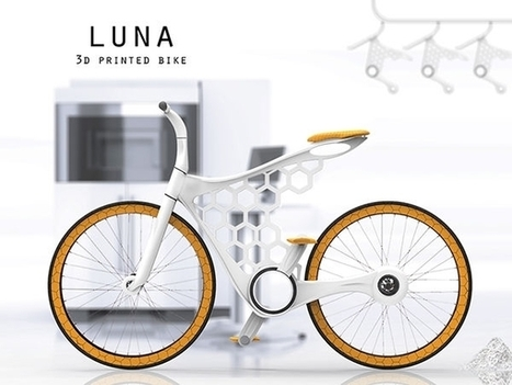 Luna, le vélo imprimé en 3D | Innovations urbaines | Scoop.it