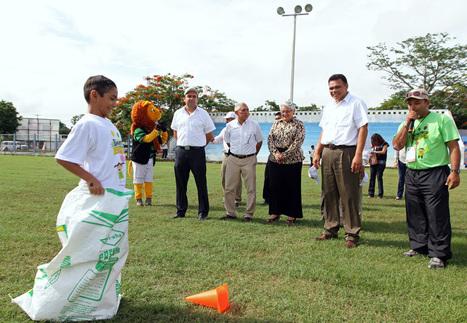 Llevan deporte y diversión a niños de Yucatán - La verdad Yucatán | RECREACIÓN Y DEPORTE | Scoop.it