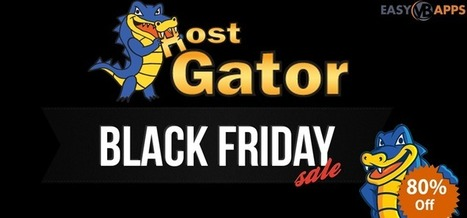 Hostgator Black Friday 2016 Sale Coupons - EasyVBApps | Anshul Mathur | Scoop.it