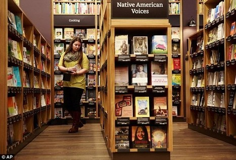 Amazon 'to open hundreds of bookstores across the US' | Kickin' Kickers | Scoop.it