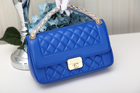 Chanel Class Blue Shoulder Cover Bags [2013072202] - $219.00 : bagbagsoutlets | bags outlet | Scoop.it