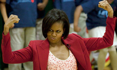 Michelle Obama 'leans in', just not in the direction privileged feminists want | critical reasoning | Scoop.it