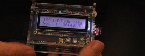Raspi Notifies You Of Space Station Passes | Raspberry Pi | Scoop.it
