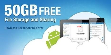 50 gigas gratis de Box para usuarios de Android | VIM | Scoop.it