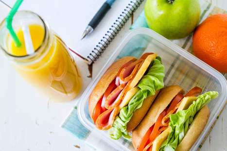 14 Brilliant Ways to Make Your Lunch Break Healthier | ♨ Family & Food ♨ | Scoop.it