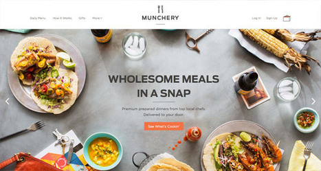 20 Tasty Website Designs from the Food Industry - Line25 | Web Design and Development Yeovil, Somerset - Web Choice UK | Scoop.it