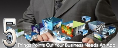 5 Things Point Out Your Business Needs An App | All Mobile App Development Mart | Scoop.it