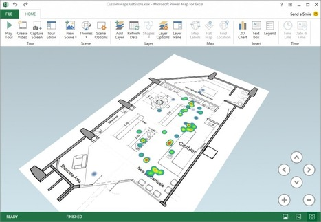 Excel Power Map September update | Office Blogs | Intelligence d'affaires | Scoop.it