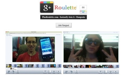 PlusRoulette – accede a hangouts públicos aleatoriamente | Google+, Pinterest, Facebook, Twitter y mas ;) | Scoop.it