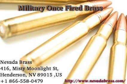 Military once fired brass   Fired Once Brass   Scoop.it