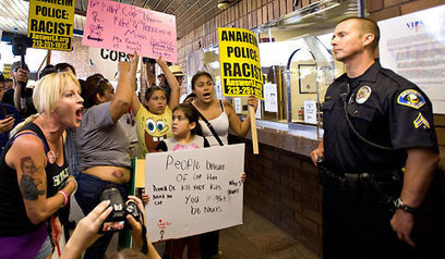 Protests in Anaheim After Fatal Shooting | Community Village Daily | Scoop.it