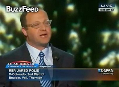 Out Gay Congressman Jared Polis Mentions Partner, Calls for Unity in Diversity in DNC Speech: VIDEO | Daily Crew | Scoop.it