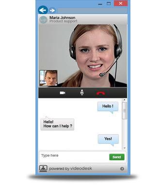 Videodesk : dialogue vidéo en direct pour le e-commerce | 1Site2Day | Scoop.it