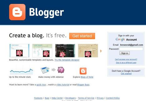 Blogger | Social media kitbag | Scoop.it