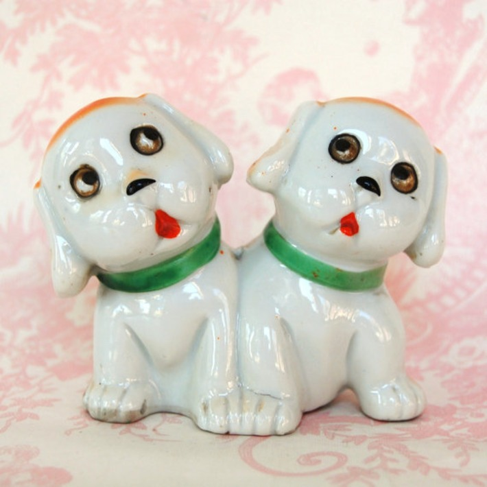 Vintage Siamese Puppy Figurine | Kitsch | Scoop.it