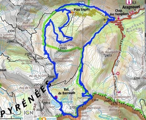 Projet de parcours 2013 - le trail de Piau-Engaly | PIAU-ENGALY Animation | Scoop.it