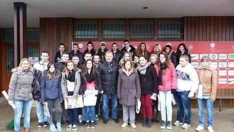 Les élèves de 3e de la MFR de Plounevez visitent le Stade brestois | MFR PLOUNEVEZ-LOCHRIST | Scoop.it