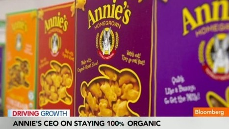Annie's Organic: Riding the Health Wave - Bloomberg | Organic Living | Scoop.it