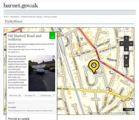 FixMyStreet for Councils – designed with councils, for councils | Hyperlocal and Local Media | Scoop.it
