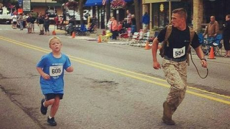 Marine in Viral Photo Rejects 'Hero' Label | Living and Loving the Joyful Life | Scoop.it